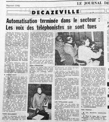 Automatisation terminée sur le secteur - Les voix des téléphonistes se sont tues -DDM-220175.jpg