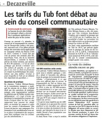 Les tarifs du TUB font débat au sein du conseil communautaire.jpg
