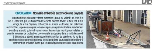 Nouvelle embardée automobile rue Cayrade.jpg