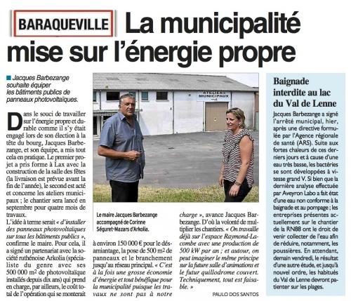 Baraqueville - la municipalité veut équiper ses bâtiments de panneaux photovoltaïques.jpg