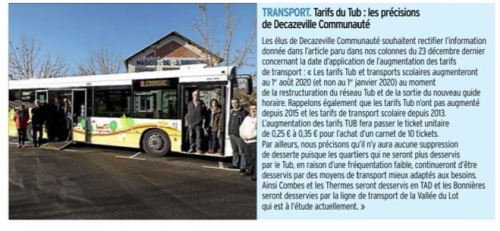 decazeville,transports collectifs,tub