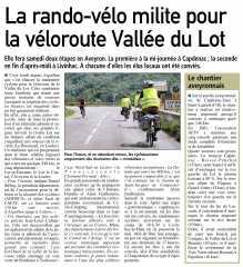 véloroute,Vallée du Lot,Livinhac,Capdenac-Gare,