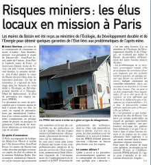 Risques miniers - Les élus locaux en mission à Paris.jpg