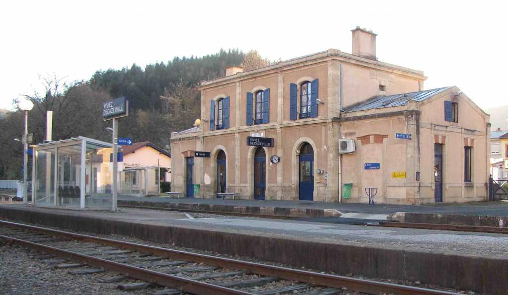 """Résultat de recherche d'images pour """"Gare de Viviez – Decazeville Aveyron."""""""